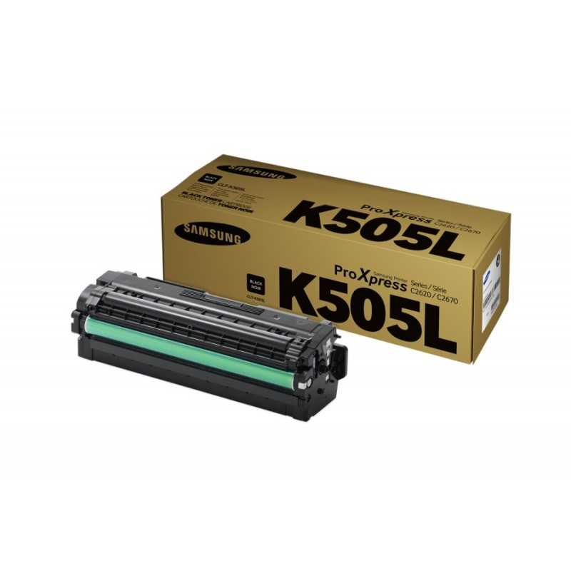 CLT-K505L/SEE Black Toner - 6000 page yield