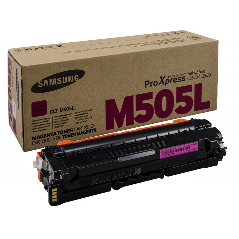 CLT-M505L/SEE Magenta Toner - 3500 page yield