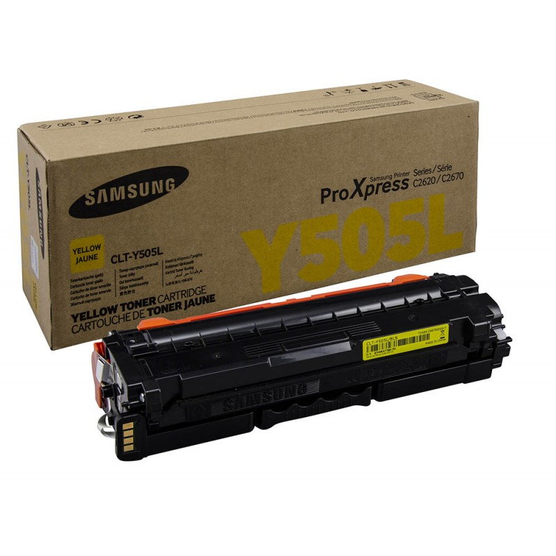 CLT-Y505L/SEE Yellow Toner - 3500 page yield